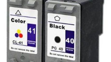 Canon Pixma iP1300 PG40 & CL41 Ink Cartridges