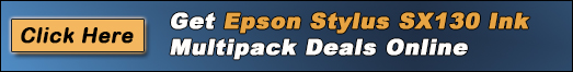 Get Epson Stylus SX130 Ink Multipack Deals Online