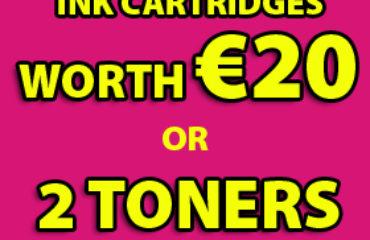 Ink Cartridges in Cork