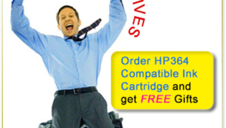 Get Best Value HP364 Compatible Ink Cartridges in Ireland with Free Gifts and Free Ink Cartridges