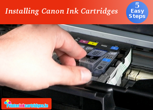 Get some useful tips to installing CANON Ink Cartridges for your printers