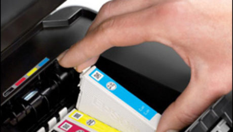 Ink Cartridges Installation for Epson Printer