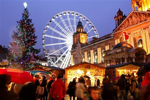 Celebrate your fun-filled Christmas day in Ireland with lots of delightful festival packed with seasonal events