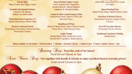 Save Money on Printing Christmas Menus for Restaurant using Low Cost Compatible Ink Cartridges