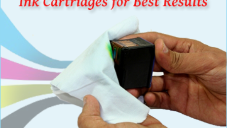 Find tips to clean and handle ink cartridges for best printing result