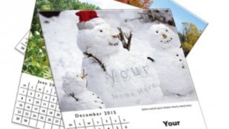 Print personalised 2015 Calendar using compatible ink cartridges on home printer