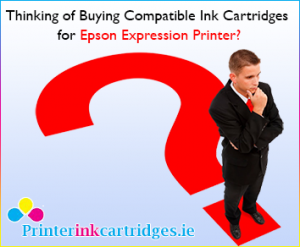 Save Money by using Compatible Ink Cartridges for New Epson Expression Printer