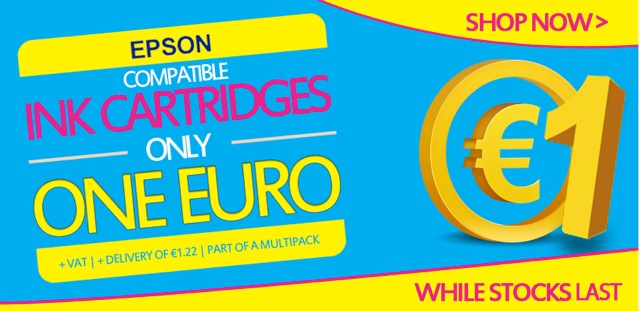 Click Here to Select non Genuine Ink Cartridges Bundle Deals for Epson Printers and Save your Euros