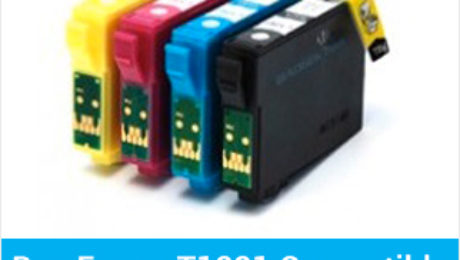 Benefits of the Epson T1281 compatible ink cartridges