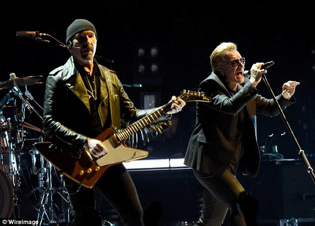 U2 tour concert at 3Arena