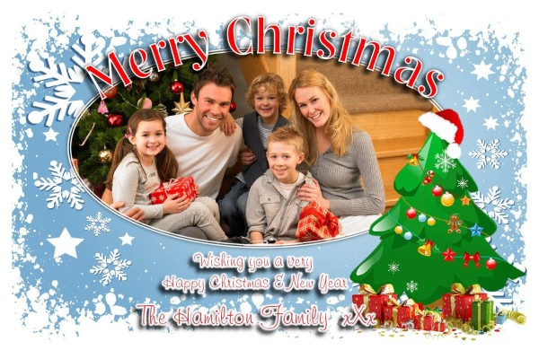 Personalize Christmas Card - Christmas Cards Ideas