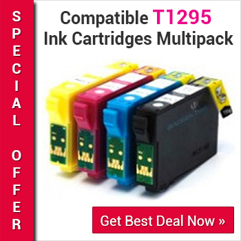 Grab compatible T1295 ink cartridges multipack offer