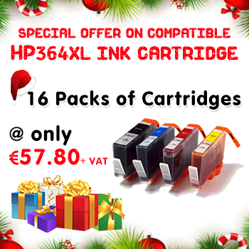 Grab Amazing 16 pack deal on Compatible HP364 XL Ink Cartridge