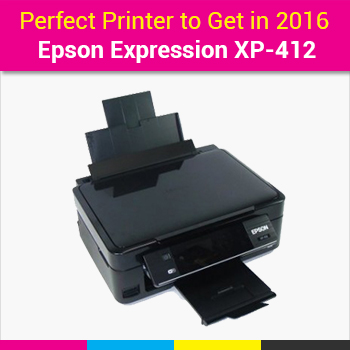 Buy Cost Effective Epson Expression XP-412 Printer and Save your Money on Printing
