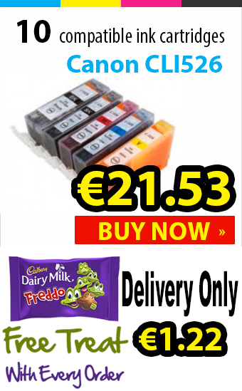 Canon CLI526 Compatible Ink Cartridges
