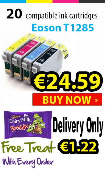Epson Stylus T1285 Compatible Ink Cartridges