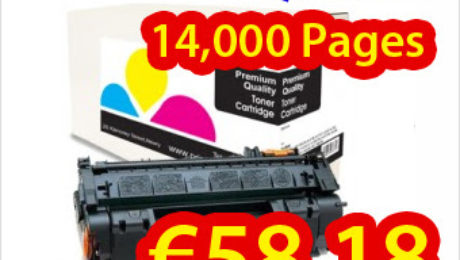 Buy compatible HP laser toner Q7553X cartridge just at €58.18