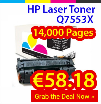 Sales of Compatible HP Laser Toner in Ireland Set to Double in 2016