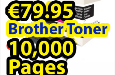 Buy 4 pack compatible Brother TN2000 cartridges online at €79.95
