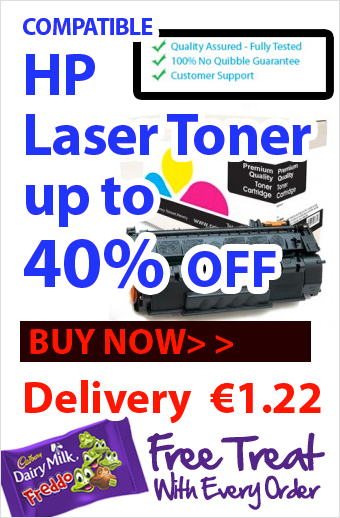 Compatibles HP Laser Toners Save up to 40% Over Original Brand Printer Toner