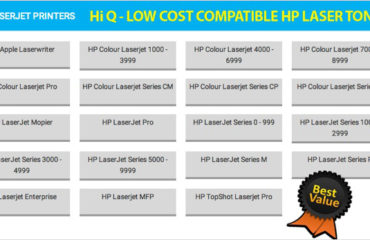 Get wide range of compatible HP toner cartridges available at low prices