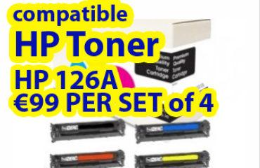 Grab compatible HP 126A toners multipack at €99
