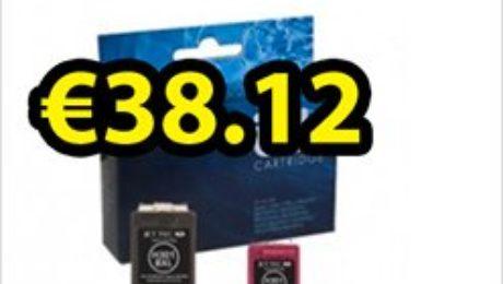 Buy compatible HP Deskjet 3050A ink cartridges at just €38.12