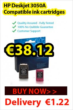Buy compatible HP Deskjet 3050A ink cartridges at just €38.12