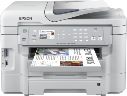 Epson Workforce WF-3530DTWF Ink Cartridges