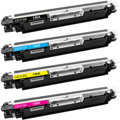Compatible HP 126A toners